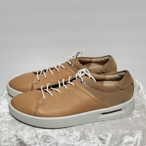 Ecco Nordstrom Taupe Corksphere Sneakers